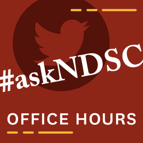 #askNDSC Twitter Office Hours